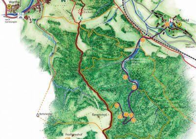 Stedtfelder Bergbau /  Bergbau Lehrpfad